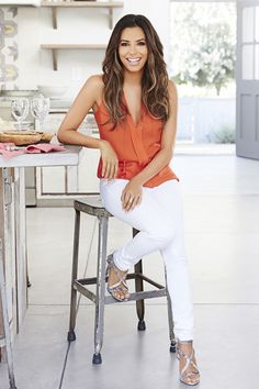 Eva Longoria talks about her favorite recipes for the holidays in the December issue of Good Housekeeping magazine. Shot at Americana-156 in Valley Village. #evalongoria #desperatehousewives #brooklynninenine http://www.imagelocations.com/locations/205