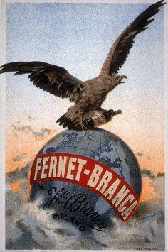Fernet-Branca | Retro advertising | Vintage poster #Affiches #Retro #Vintage #Ads #Adverts #SXX #deFharo #Publicidad