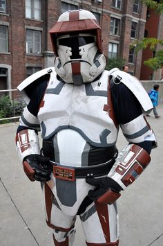 Star wars the old republic trooper costume