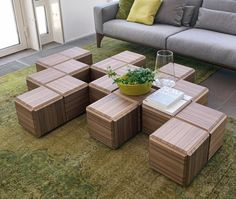 Block - Coffee tables / Side tables - Tables - furniture - Products