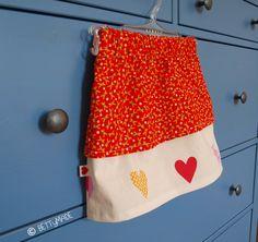 Fall-in-love skirt tutorial