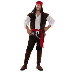 Disfraz de Pirata con Chaleco #carnaval #novedades2016