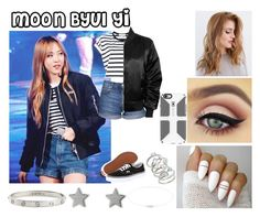 """""""Moon Byul Yi"""" by ohmy-fangirl ❤ liked on Polyvore featuring Vanessa Bruno Athé, Topshop, Vans, Speck, Kamushki, Gucci, Cartier and Kendra Scott"""