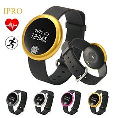 Adults Heart Rate MonitorIPRO IphoneAndroid Waterresistant Smartwatch Activity Pedometer Bracelet Calorie Counter Antilost Health Sleep  Fitness Tracker with Calling ReminderS6 -- Check this awesome product by going to the link at the image.