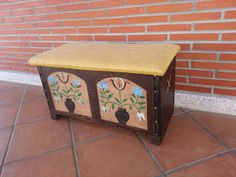 Transformación de una caja de madera en arcón