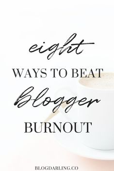 Feeling Burned Out from Blogging? Recently I found myself in a blogging slump. No matter