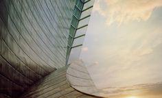 The Guggenheim Museum Bilbao - design by Frank Gehry, render by Alex Roman