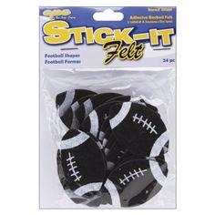 Stick It Felt Shapes, Footballs 24/Pkg The New Image Group http://www.amazon.com/dp/B002VRD7R8/ref=cm_sw_r_pi_dp_sxmjub0QRX4RZ