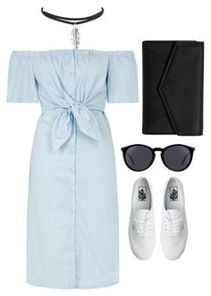 """Sorry, My Shoulder is too sexy"" by rifdaadf on Polyvore featuring Topshop, Vans, LULUS, Yves Saint Laurent, Sexy, shoulder and offshoulder"