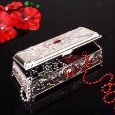 Gümüş Mücevher Kutusu