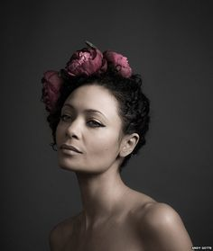Thandie Newton, by Andy Gotts.