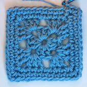 Small Crochet Granny Square