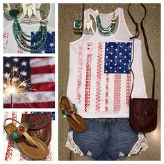 Show off your Americana style!  Southern Thread Austin, TX.