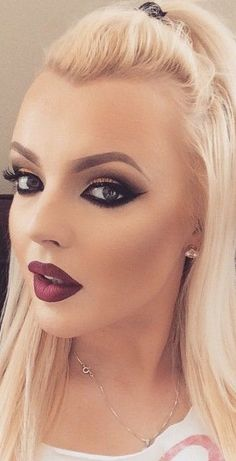 Premium Mink Lashes http://www.luxy-lash.com Instagram @luxylash Love her make up