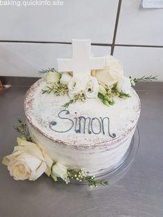Chocolate and hazelnut cake - HQ Recipes Chocolate Explosion Cake, Christening Cake Boy, Baptism Cakes, Nake Cake, Ice Cream Birthday Cake, Confirmation Cakes, Hazelnut Cake, Drip Cakes, Cakes For Boys