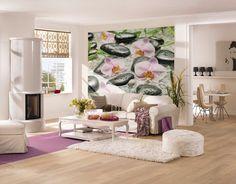 Ein Ort der Ruhe - Blühende Orchideen und weiße Steine sorgen für entspannte Atmosphäre. / 4-318 Wellness