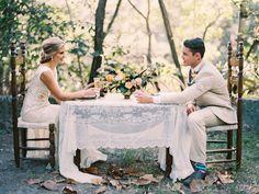Fall outdoor wedding reception in Florida | Erika Delgado Photography | see more on: http://burnettsboards.com/2014/12/fall-romance-florida/