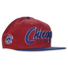 New Era MLB Retro Chicago Cubs Snapback Hat #FinishLine $27.99