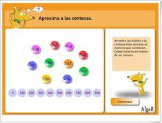 """Aproxima a las centenas"" (Números de 3º y 4º de Primaria) Apps, Math, Editorial, Ideas, School Supplies, Special Education Classroom, Math Classroom, Math Resources, App"