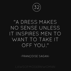 And it can still be classy... (just saying. You don't have to be naked, to be sexy)