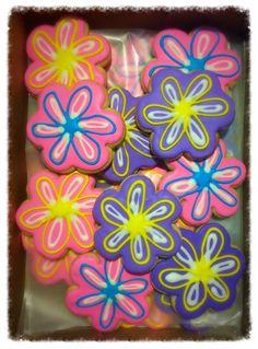 Yummy Springtime sugar cookies