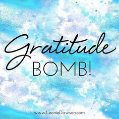 #gratitude What are you thankful for?