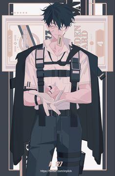 Pretty Art, Cute Art, Anime Manga, Anime Art, Akali League Of Legends, Anime Boy Zeichnung, Korean Anime, Anime Kunst, Handsome Anime