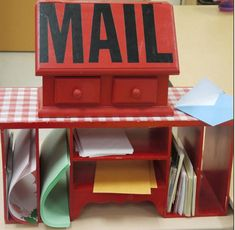 Having mailboxes within the classroom promotes a motivation for literacy. With a specific purpose of letter writing, students will feel engaged and motivated to partake in literacy activities and improve their writing abilities.