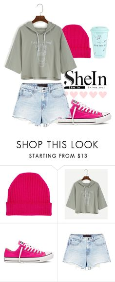 """""""Coffee Morning"""" by my-style-xo ❤ liked on Polyvore featuring Orwell + Austen, Converse, Alexander Wang, Ben de Lisi and shein"""