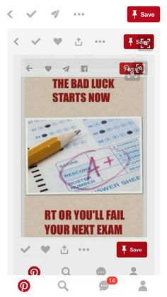 It's finals I can't risk it