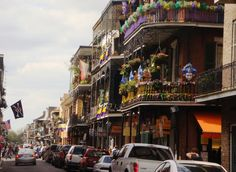 New Orleans, LA- A few crazy (yet memorable) weekends spent here! Highly recommend it...for Mardi Gras especially :)