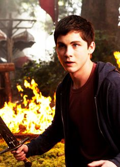 Logan Lerman: the Percy Jackson Movie: Sea of Monsters Percy Jackson Movie, Percy Jackson Characters, Logan Lerman, Annabeth Chase, The Last Olympian, Sea Of Monsters, Rick Riordan Books, Percabeth, Ezra Miller
