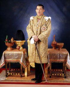 Seiner Majestät den König Maha Vajira Bodindradebayavarangkun 28-07-1965. Koning van Thailand.