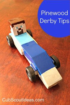 Does your son want to have the fastest Pinewood Derby? Or maybe he wants the coolest car. Find out how to make both with these Pinewood Derby resources.