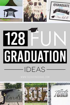 128 great graduation ideas! #grad