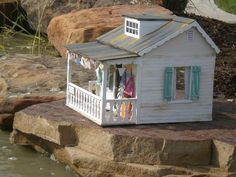 """beach house dollhouse"""