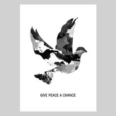 POSTER – GIVE PEACE A CHANCE