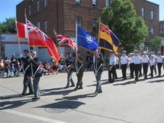Annual Drumheller Canada Day Parade.