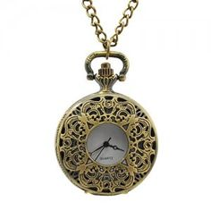 Antique Pocket Watch Flower