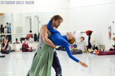 The daily dedication of PBT company dancers both in the studio and in the stage contributed to artistic successes in 2012  Photo: Aimee DiAndrea