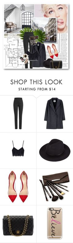 """""""Untitled #456"""" by oychanel ❤ liked on Polyvore featuring Religion Clothing, Jason Wu, MM6 Maison Margiela, Gianvito Rossi, Borghese, Chanel, Bobbi Brown Cosmetics and Casetify"""