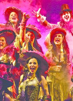 Les Miserables - Lovely Ladies...you can see Danielle Hope in this picture. She played Eponine!