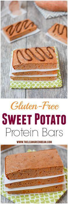 Sweet Potato Protein Bars + 6 Healthy Ways To Eat Sweet Potatoes