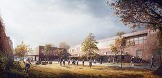 HawkinsBrown London - Primary School - Arqui9 VisualisationArqui9 Visualisation