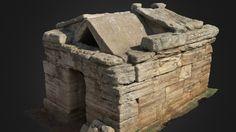 Modello 3D interattivo di una tomba etrusca