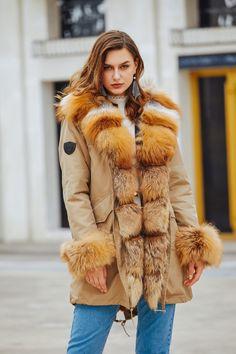 04c52afc Pelz Parka Beige/braun Pelzkragen Aus Rotfuchspelz - 2018 2019 Fashion Fur  London Pelz-Park-Braun-Braun-Pelzkragen-Aus-Rotfuchspelz-1 799.00