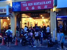 4 days in Georgetown, Malaysia | Garlic and Lime | Tek Sen Restaurant  A cultural melting pot, get #travel #tips for a long #weekend in #Georgetown, #Penang #Malaysia
