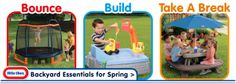 Bounce, Build, and Take a Break with Little Tikes Backyard Essentials this Spring
