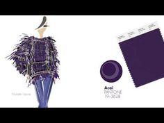 ▶ PANTONE Fashion Color Report Fall 2013: Women's Color Palette - YouTube
