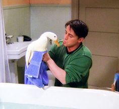 Friends - Joey and 'the Duck'